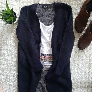 Zara Knit Wool Duster Cardigan